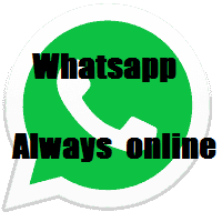 whatsapp always online