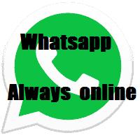 whatsapp always online